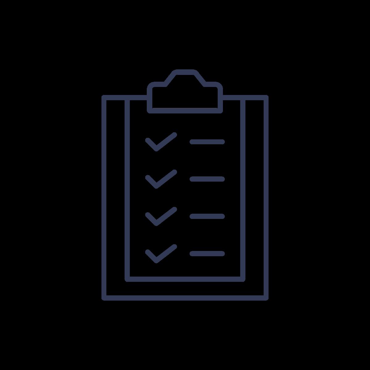 icon: clipboard