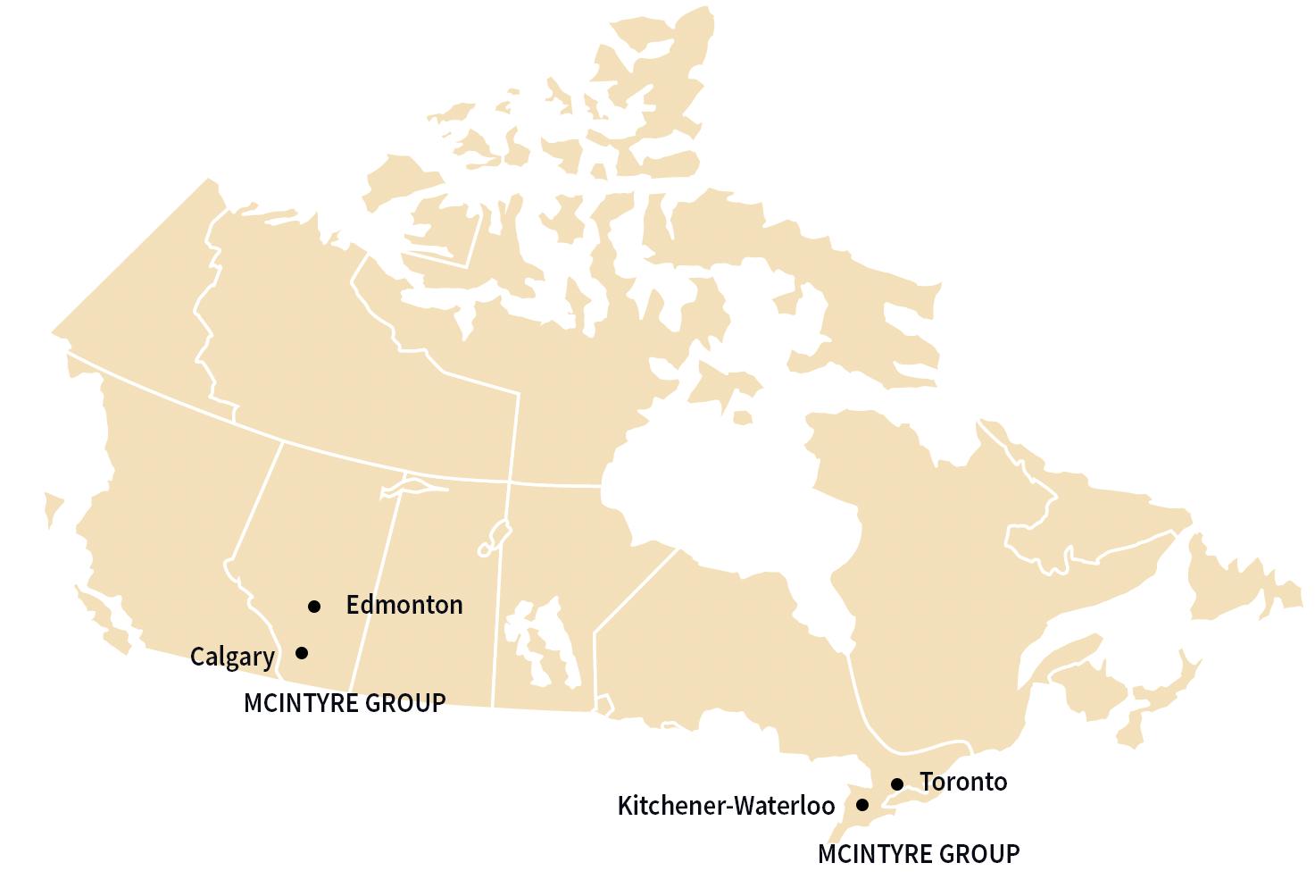 FSN Installer Service Areas in Canada