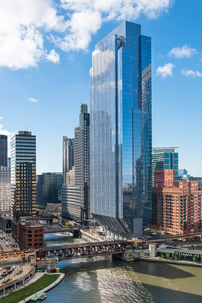 ISI Project located at 150 N. Riverside, Chicago, Illinois
