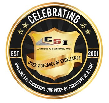 Celebrating 20 years, Cubicle Solutions, Inc.