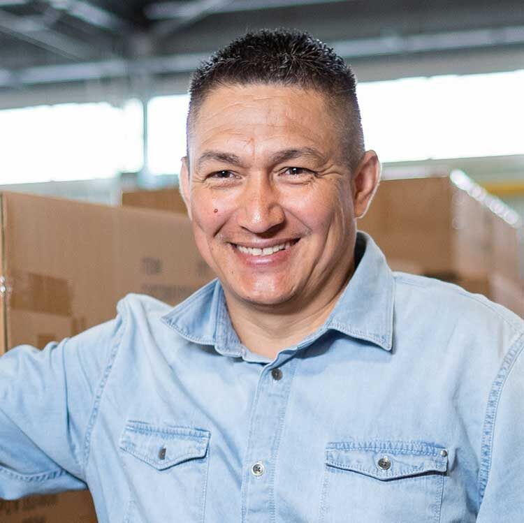 Benny Diaz, Vice President of Sales, Corporate Services of Service West