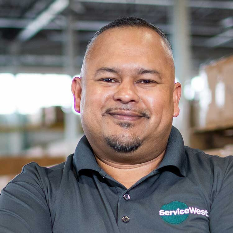 Ruben Deleon, Vice President of Operations, Northern California of Service West