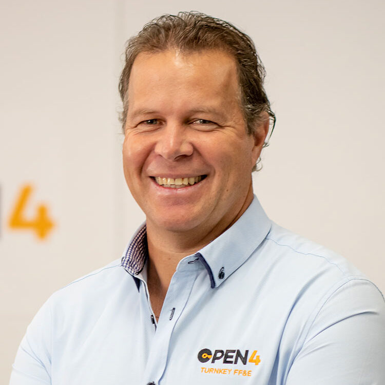 Chris Orchard, Managing Director of Open 4