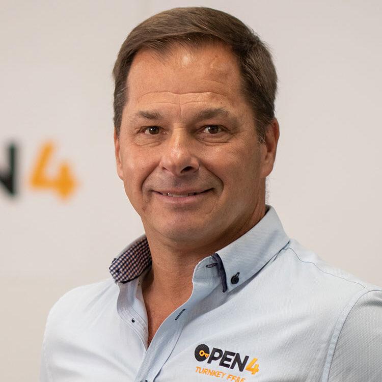 Sean Crichton-Browne, Sales Director for Open 4